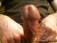 Starman X - Sexy guy jacks his big cock