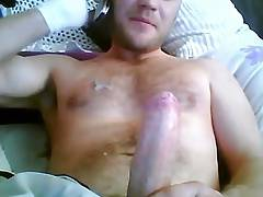 Jerking and shooting on the phone