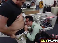 Straight college buff stud gets his tight ass fucked