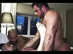 big and hairy threesome fuck