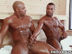 HotHouse Sean Zevran Sweaty Sauna Sex
