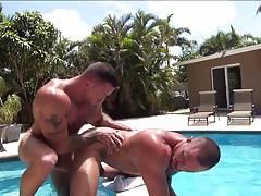 Bareback - Hot Tub Flip Fucking