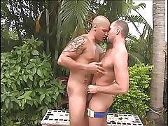Hot latin man fucking a daddy