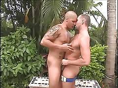 Hot latin man fucking a daddy