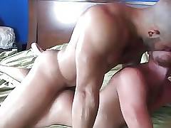 Bare Buttfuck and Massive Cumshot