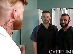 Fernando Del Rio fucks Bennett Anthony and Chandler Scott