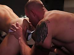 Blonde perfection getting licked and fucked