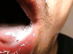 Sperma in der Fresse