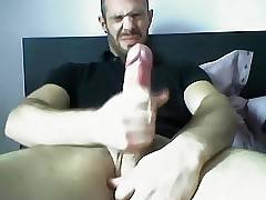 Hot Arab Dude Busts a Nut